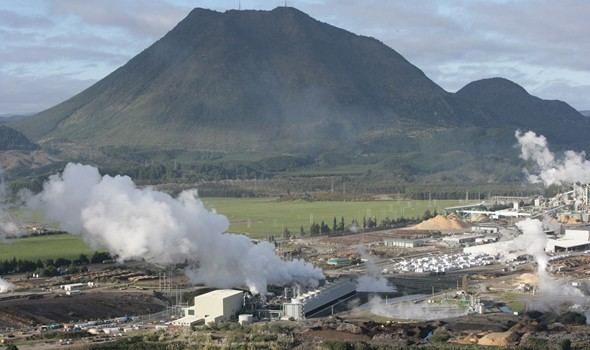 Geothermal energy uses heat to produce steam, which in turn powers a ...