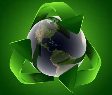 Reduce pollution : The more you recycle old products the less you