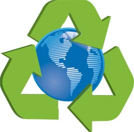 Recyling material conserve energy future for Anything of waste material